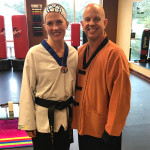 First degree black belt!!! And a surprise blue instructor top!hellip